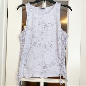 Material Girl marble active Tank